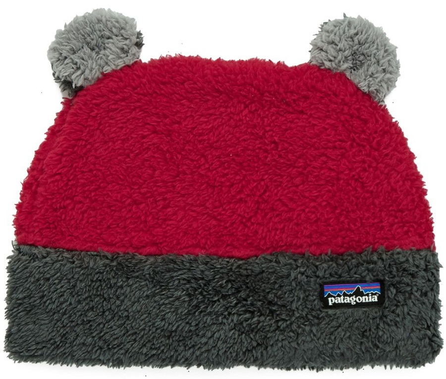 e176f09a1 Patagonia Baby Furry Friends Hat - Classic Red