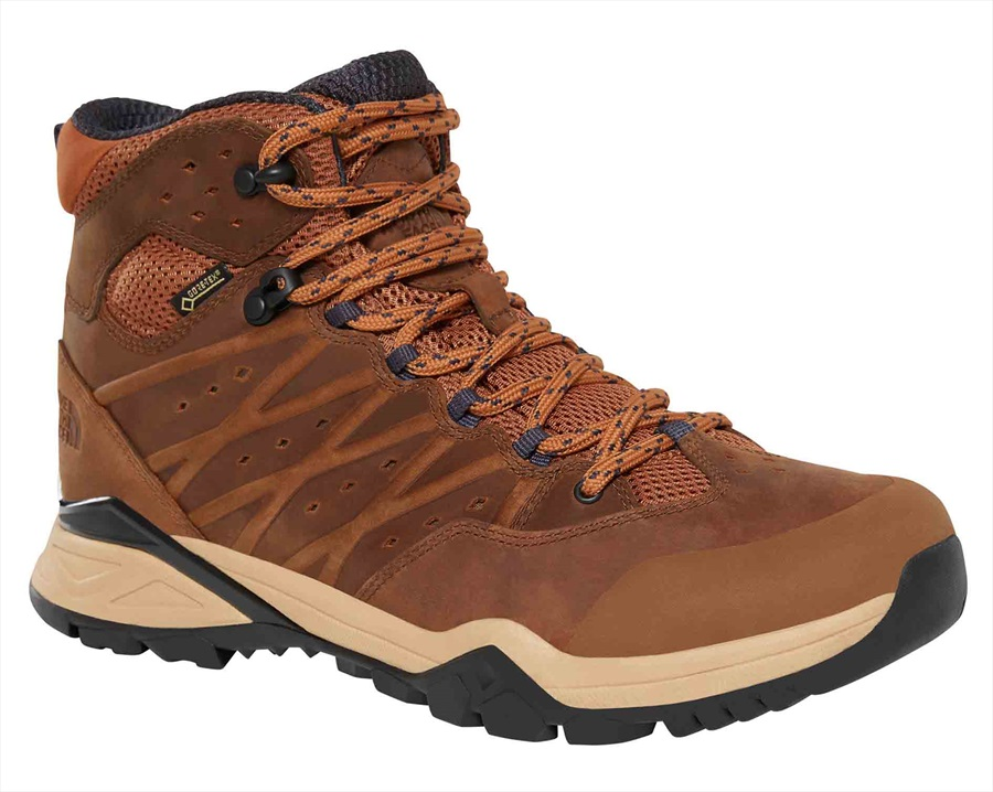 The North Face Hedgehog Hike II MID GTX Hiking Boots, UK 11.5 Timber