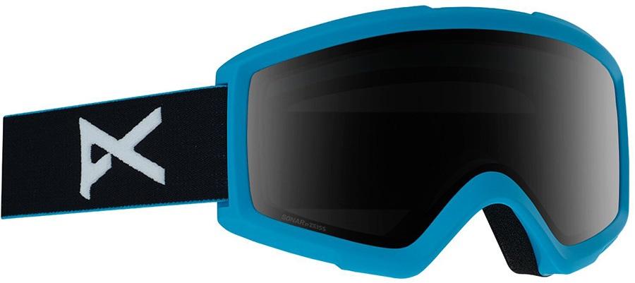 Anon Helix 2.0 Sonar Smoke Ski/Snowboard Goggles, S/M Blue