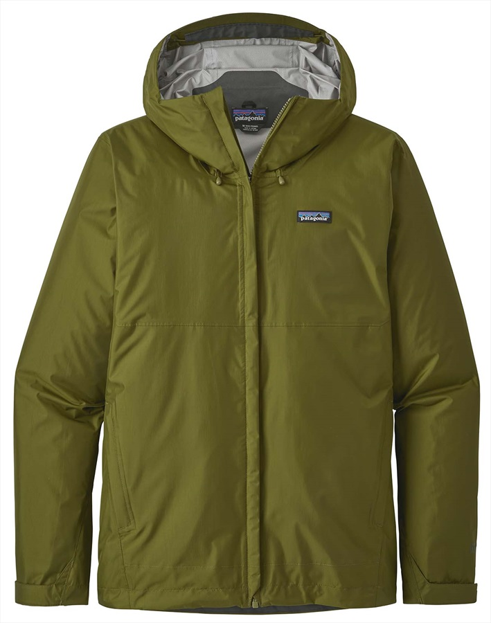 Patagonia Torrentshell Waterproof Jacket, L Willow Herb Green