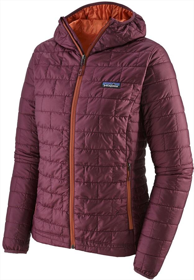 Patagonia Nano Puff Hoody Women's Insulated Jacket, S Light Balsamic