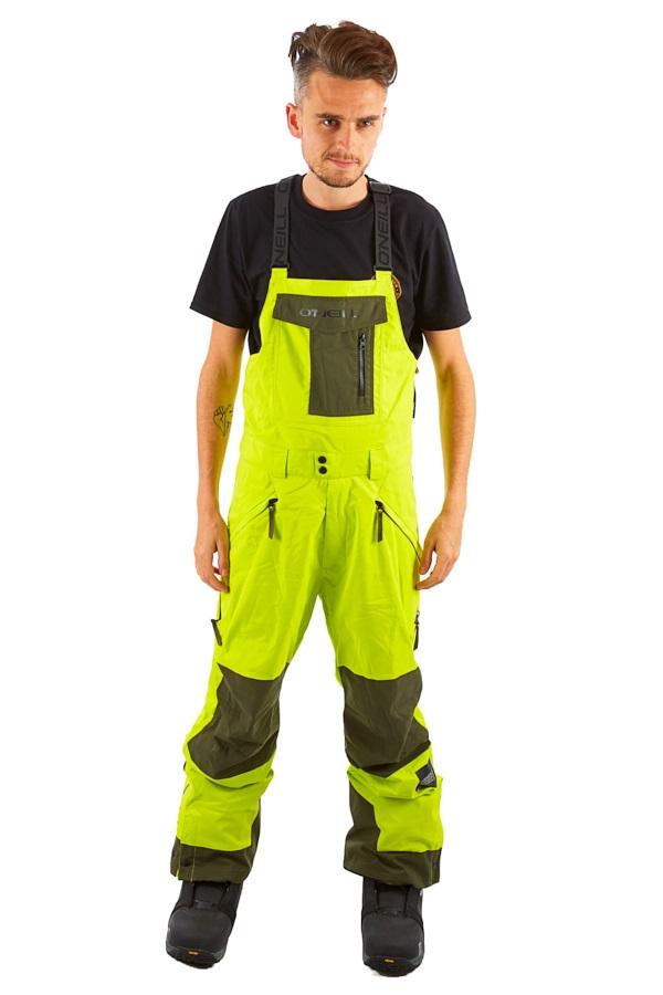 O'Neill Original Ski/Snowboard Bib Pants, S Lime Punch