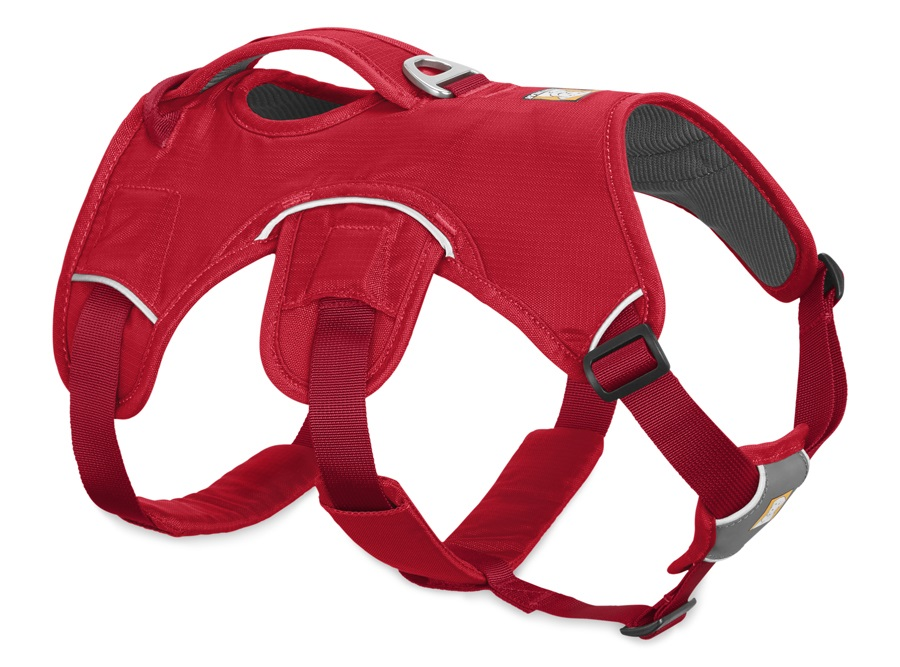 Ruffwear Web Master Active Dog Harness With Handle L/XL Red Currant