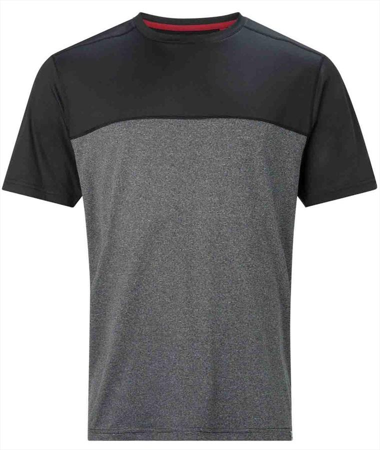 Berghaus Voyager Basecrew Short Sleeve Tech T-Shirt, S Jet Black/White