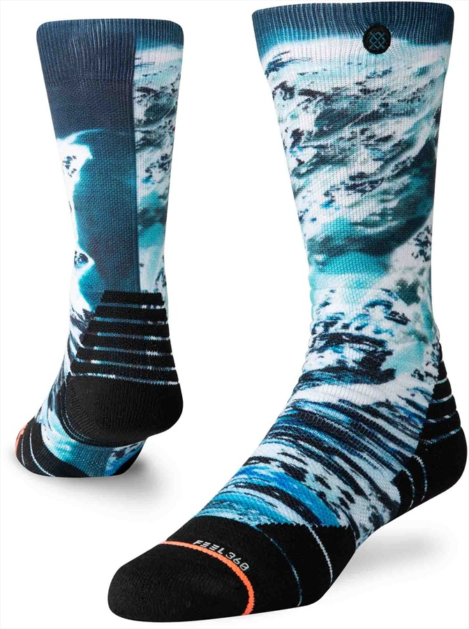 Stance Come Together Womens Sock Blue M