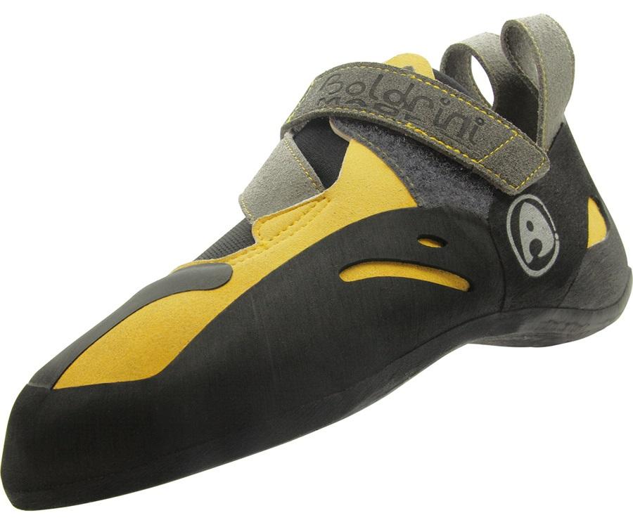 Andrea Boldrini Spider Rock Climbing/Bouldering Shoe, UK 10.5 Yellow