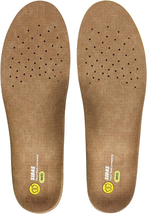 Sidas 3Feet Outdoor Mid Hiking/Walking Insoles, XL Brown/Green