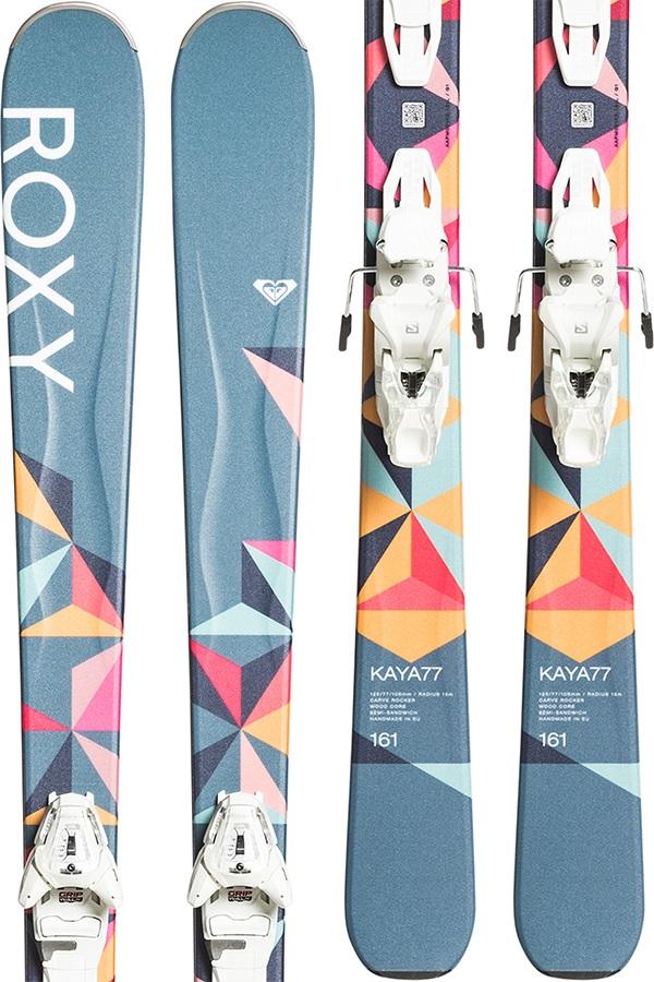 Roxy Kaya 77 Women's Skis, 147cm 2020