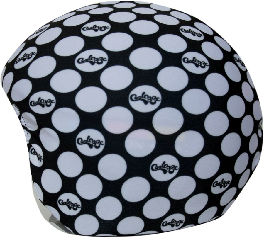 Coolcasc Printed Cool Ski/Snowboard Helmet Cover, CoolCasc Black Dots