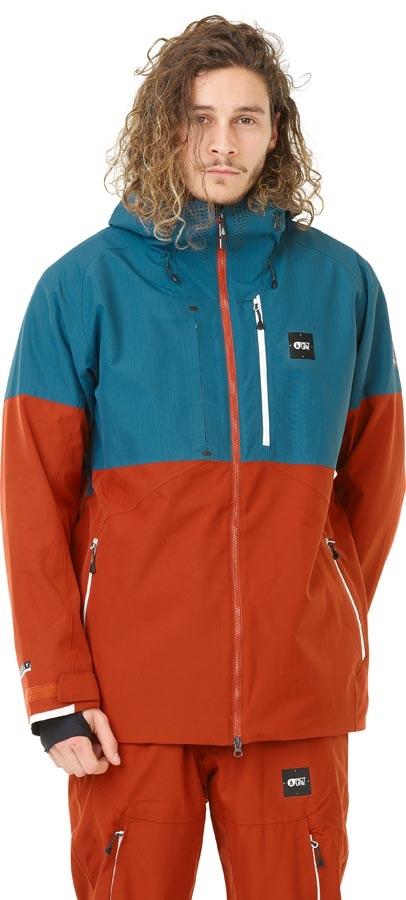 Picture Stone Ski/Snowboard Jacket, L Petrol Blue