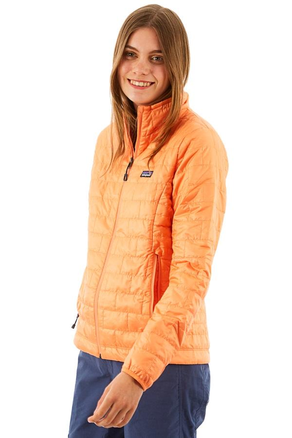Patagonia Women's Nano Puff Insulated Jacket, UK 10 Peach Sherbet