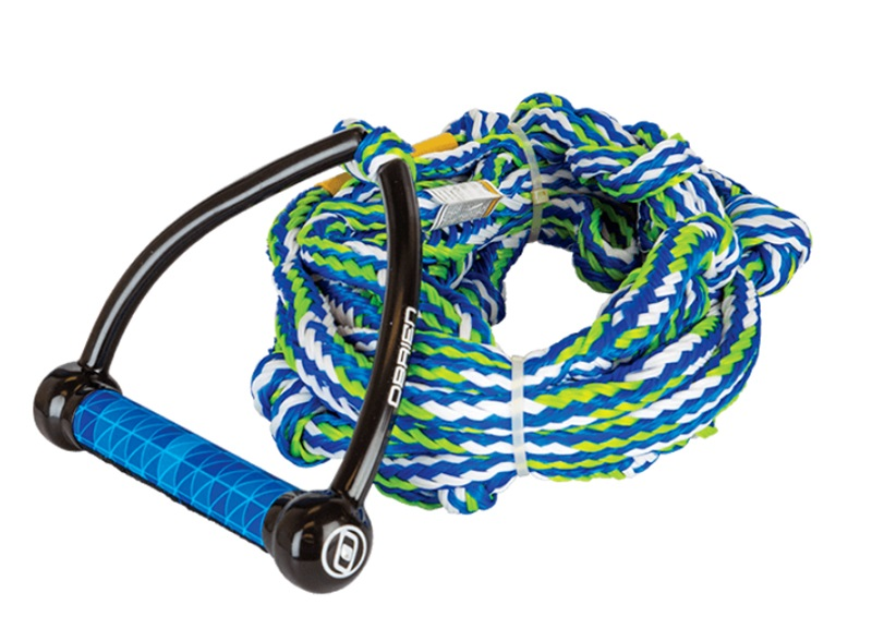 "O'Brien Pro Surf Wakesurf Rope and Handle, 9"" Handle 25' Rope Blue"