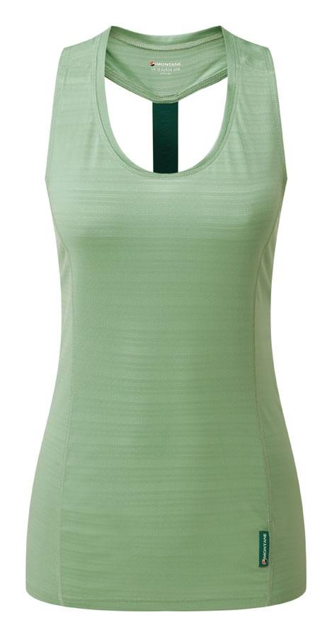 Montane Electra Sleeveless Women's Tank Top Vest, M Matcha Green