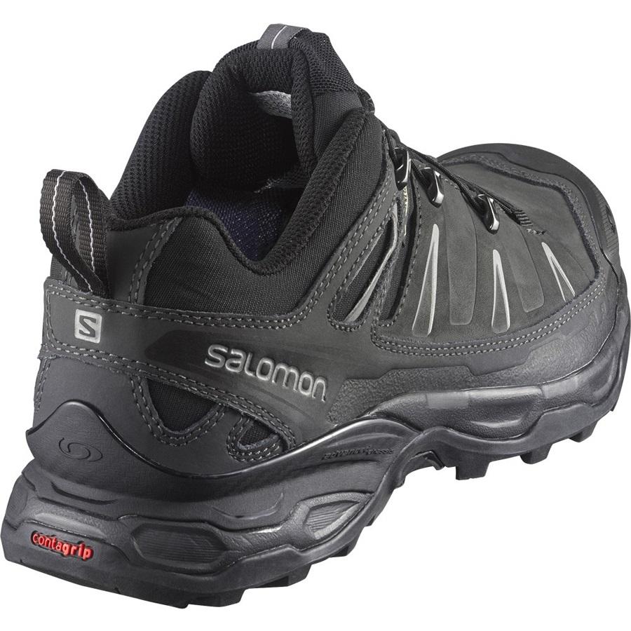 cfc3529161 Salomon X ULTRA LTR Gore Tex Hiking Shoe UK10.5 Black Leather