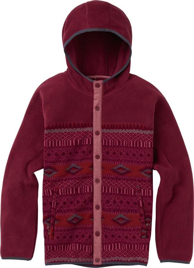 Burton Hearth Snap-Up Women's Fleece Hoodie, S Port Royal Freya