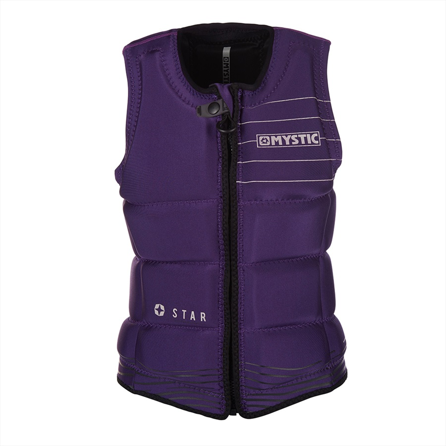 Mystic Star Women's Wakeboard Impact Vest, Small Purple 2019