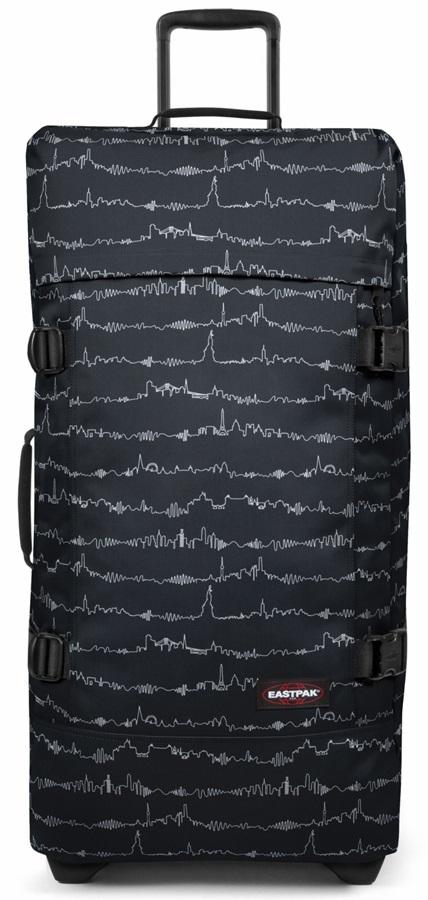Eastpak Tranverz L Wheeled Bag/Suitcase, 121L Beat Black
