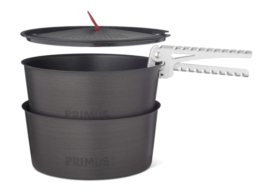 Primus LiTech Pot Set Ultralight Cookware Set, 1.3L Grey