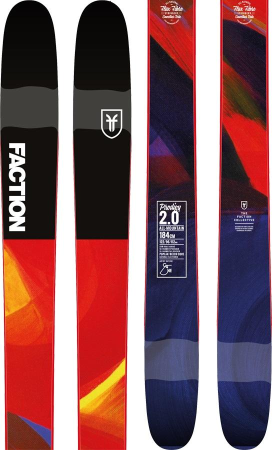 Faction Prodigy 2.0 Skis, 168cm 2019