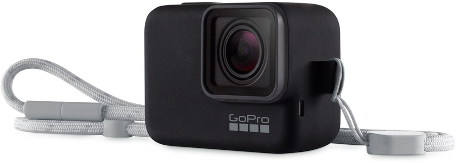 GoPro Black Sleeve + Lanyard Silicone Protective Cover