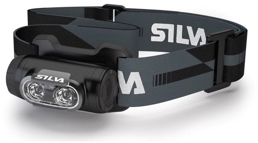SILVA Ninox 3 IPX7 Backpacking, Hiking Headlamp, 300 Lumens Black
