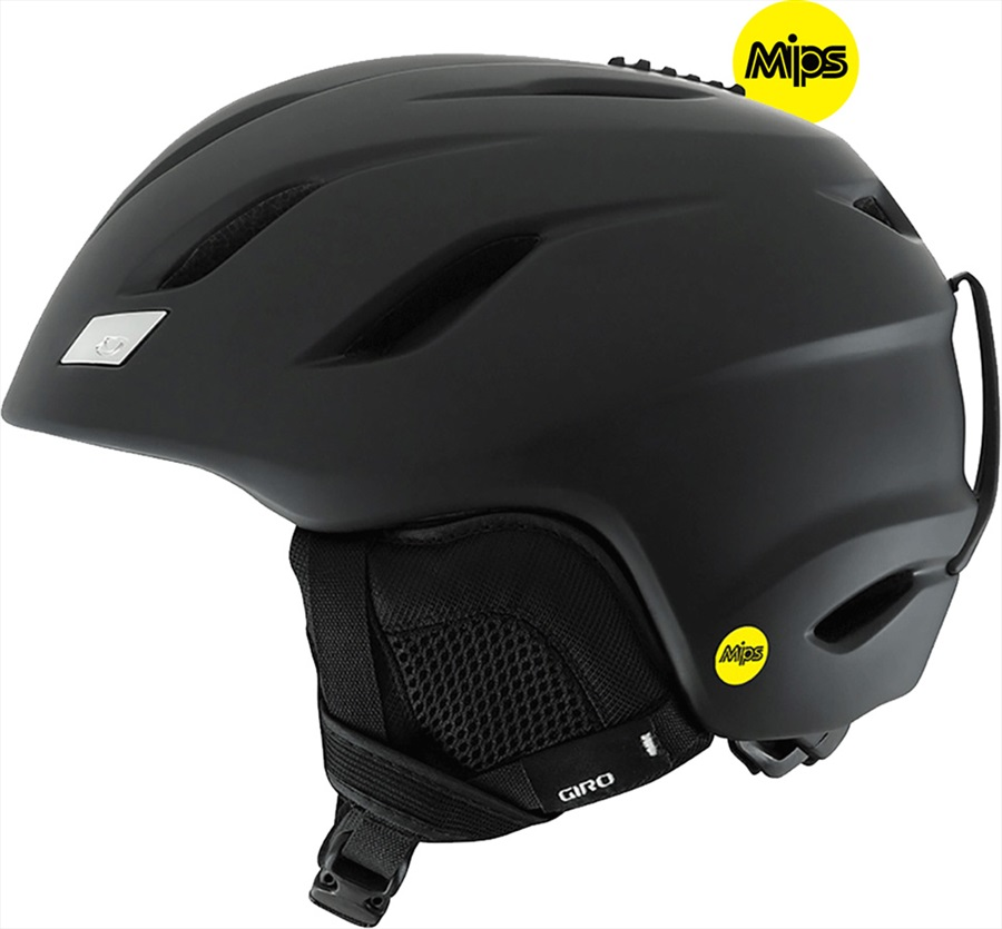 Giro Nine MIPS Snowboard/Ski Helmet, S Matte Black