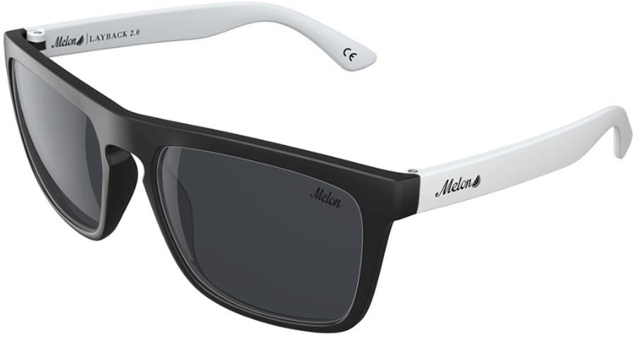 Melon Layback 2.0 Smoke Polarized Sunglasses, Penguin