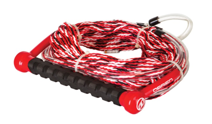 O'Brien Deep V Waterski Rope Handle Combo, 70' Red