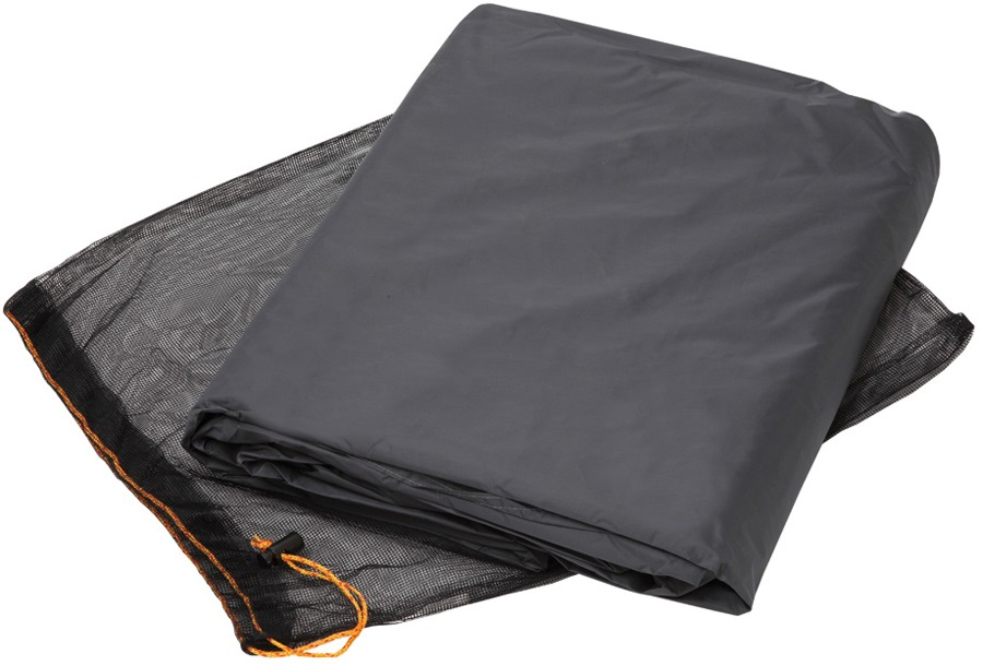 Vaude Floor Protector Campo Compact Tent Footprint, 2-Person Black