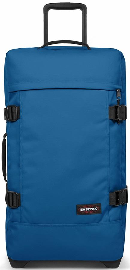 Eastpak Tranverz M Wheeled Bag/Suitcase, 78L Urban Blue