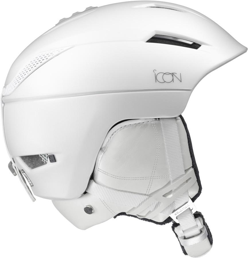 Salomon Icon2 C.Air Women's Snowboard/Ski Helmet, S, White