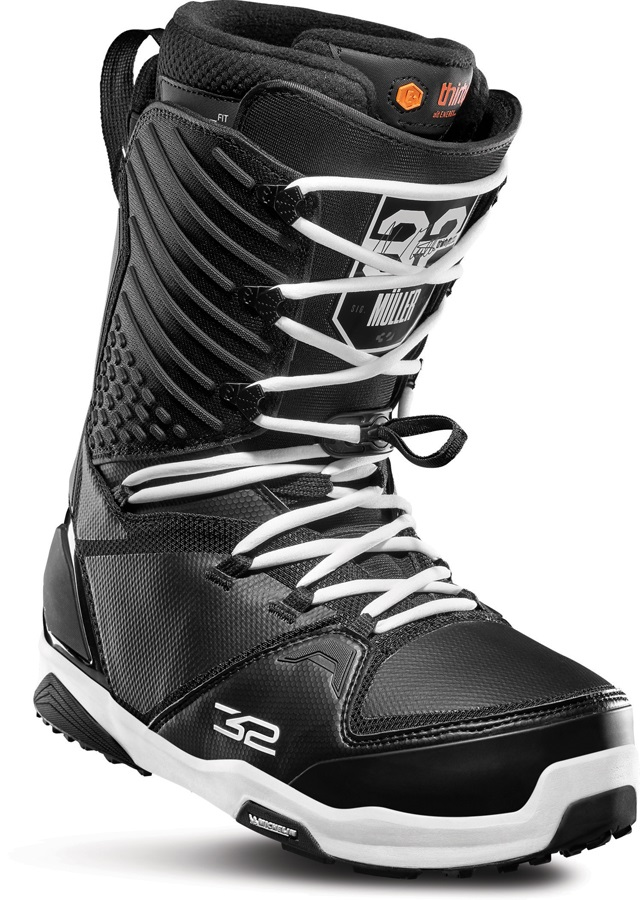 thirtytwo Mullair Men's Snowboard Boots, UK 9 Black 2020