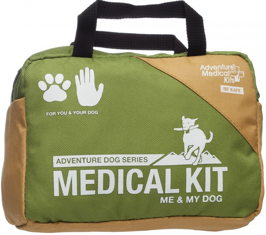 Adventure Medical Kits Me & My Dog Pet First Aid Kit 27 Items Green
