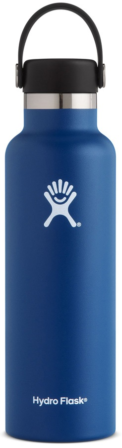 Hydro Flask 21oz Standard Mouth With Flex Cap Water Bottle - Cobalt
