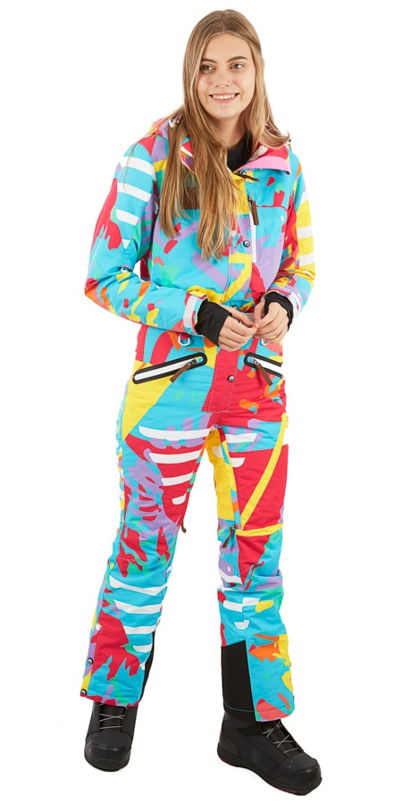 OOSC Snow Suit Women's Snowboard/Ski One Piece, XS XOXO