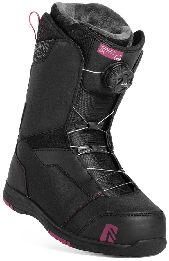 Salomon Linea Womens Snowboard Boots, UK 8.5, WhiteBlue Bay