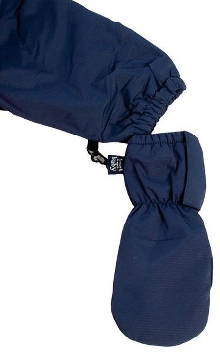 Bushbaby Warm Mitts Fleece Lined Mittens, 6 Months Navy