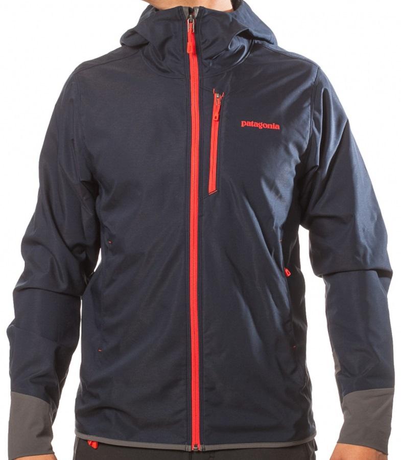 Patagonia Levitation Hoody Softshell Jacket, M, Navy Blue