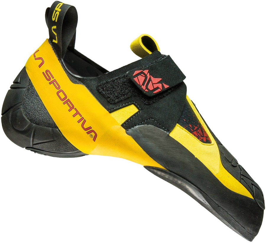 La Sportiva Skwama Rock Climbing Shoe: UK 11.5 | EU 46, Yellow/Grey