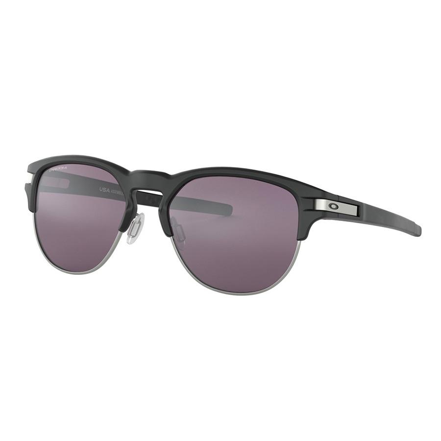 Oakley Latch Key Sapphire Jade Sunglasses, Matte Black