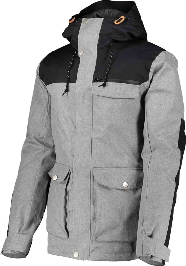 Wearcolour Roam Snowboard/Ski Jacket M Grey Melange