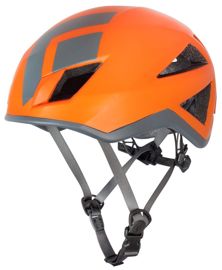 Black Diamond Vector Climbing Helmet, S/M, Orange/Grey
