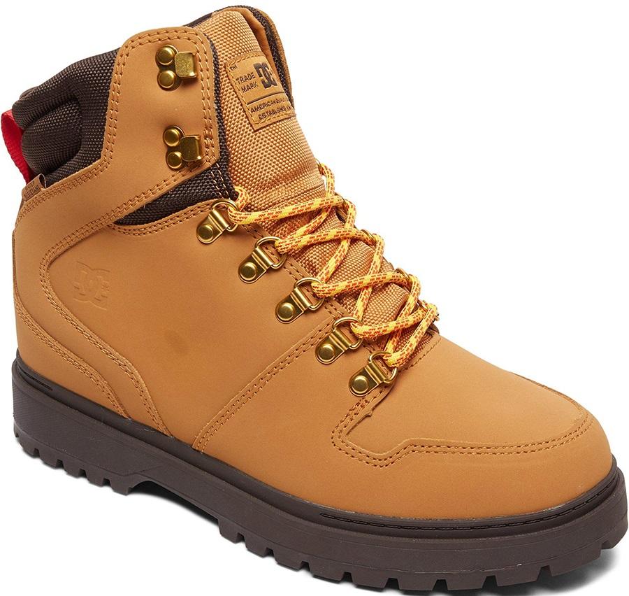 DC Peary Men's Winter Boots, UK 13 Wheat/Dark Chocolate