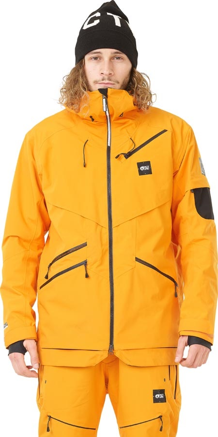 Picture Zephir Ski/Snowboard Jacket, M Gold