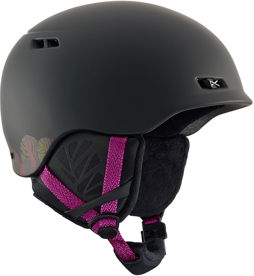 Anon Womens Griffon Women's Ski/Snowboard Helmet, L Black
