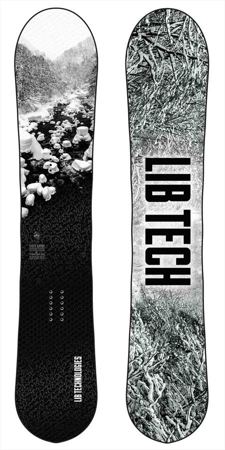 Lib Tech Cold Brew Hybrid Camber Snowboard, 155cm Wide 2020
