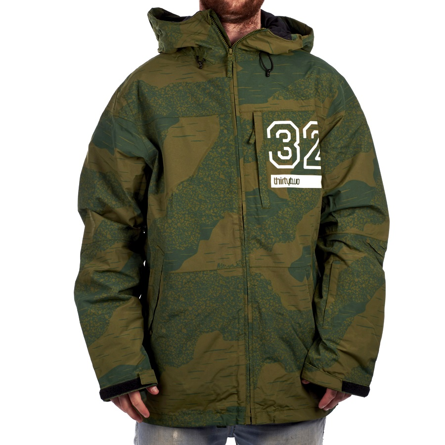 thirtytwo Mens Shilo Jacket Thirtytwo Snow Apparel
