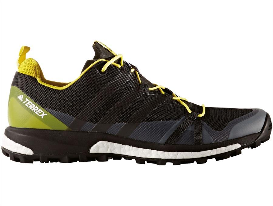 Adidas Terrex Agravic GTX Men's Trail Running Shoes, UK 7 BLK/YEL