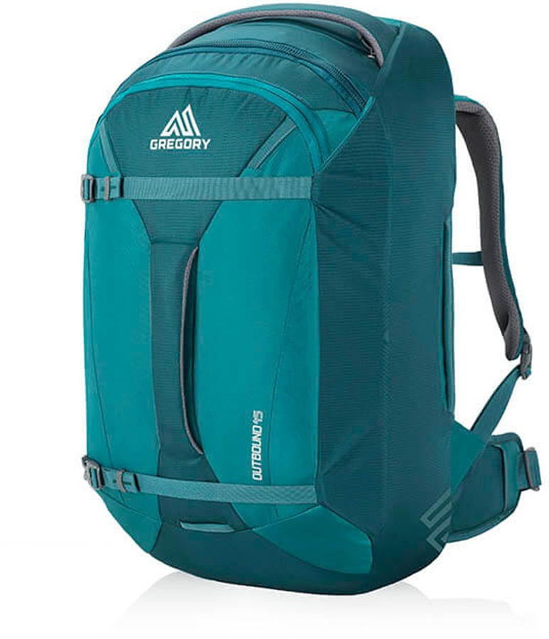 Gregory Womens Proxy 45 Carry-on Travel Backpack, 45L Antigua Green
