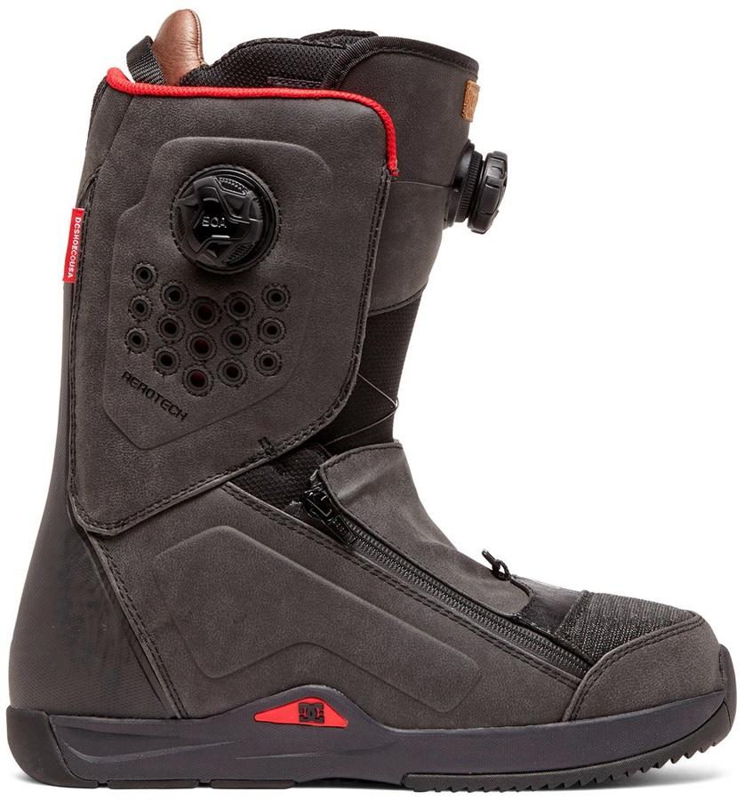 DC Travis Rice Boa Snowboard Boots, UK 8.5 Black 2020